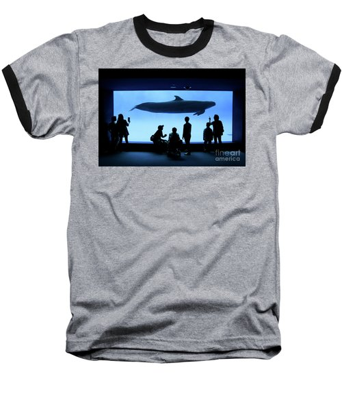 Grand Whale Baseball T-Shirt