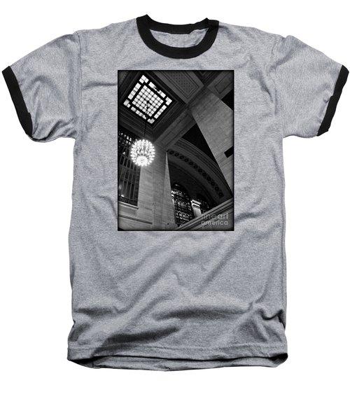 Grandeur At Grand Central Baseball T-Shirt by James Aiken