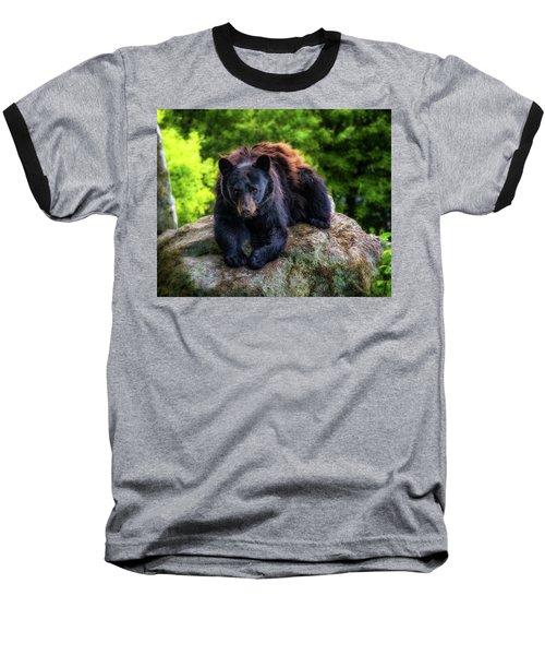 Grandfather Mountain Black Bear Baseball T-Shirt