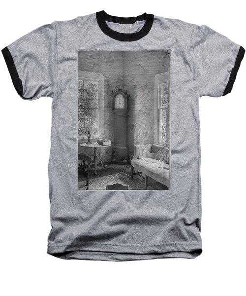 Grandfather's Clock Baseball T-Shirt