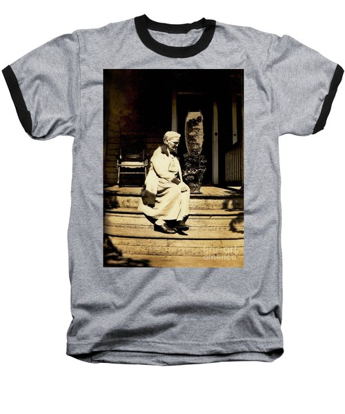 Baseball T-Shirt featuring the photograph Grandma Jennie by Paul W Faust - Impressions of Light