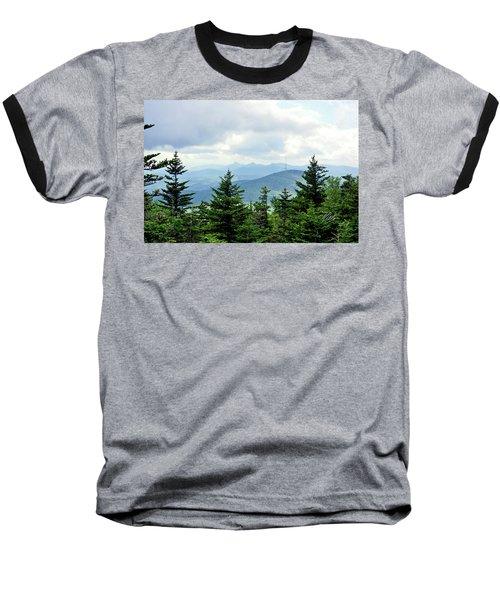 Baseball T-Shirt featuring the photograph Grandmother Mountain by Meta Gatschenberger