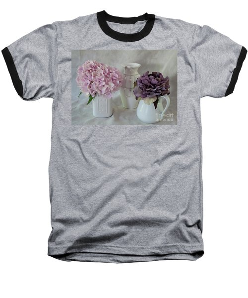 Baseball T-Shirt featuring the photograph Grandmother's Vanity Top by Sherry Hallemeier