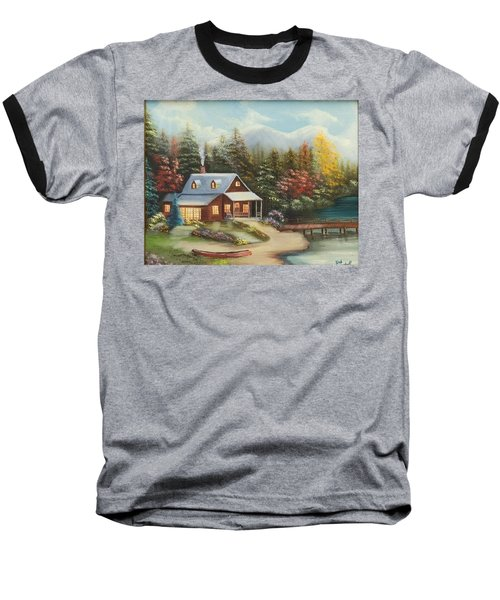 Grandpa's Cabin Baseball T-Shirt