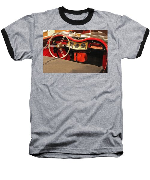 Grandpa's Garage Baseball T-Shirt