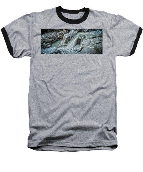 Granite Falls Blues Baseball T-Shirt by Tony Locke
