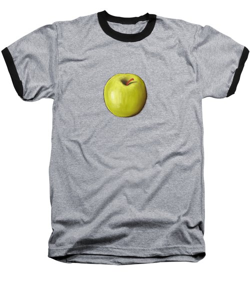 Granny Smith Apple Baseball T-Shirt by Anastasiya Malakhova