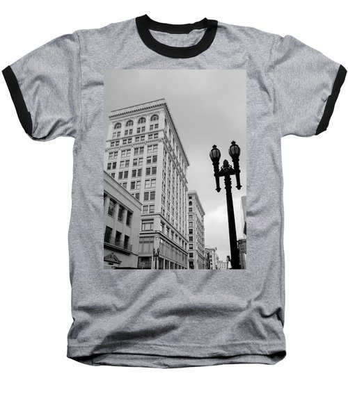 Grant Avenue Baseball T-Shirt by Mark Barclay