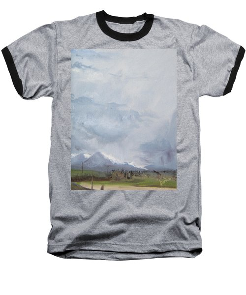 Grantsville Skies Baseball T-Shirt by Jane Autry