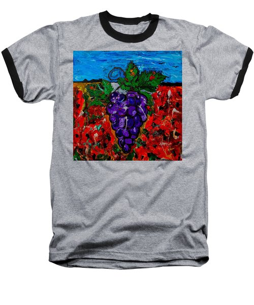 Grape Jazz Baseball T-Shirt