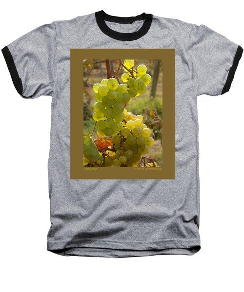 Grape Spiral Baseball T-Shirt