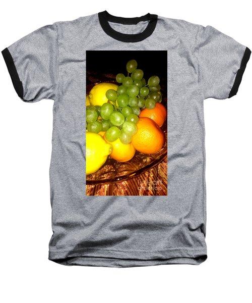 Grapes, Mandarins, Lemons Baseball T-Shirt