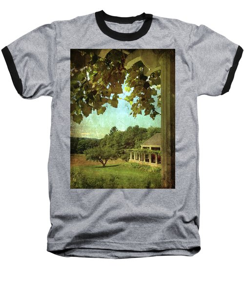 Grapes On Arbor  Baseball T-Shirt