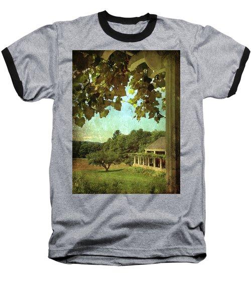 Grapes On Arbor  Baseball T-Shirt