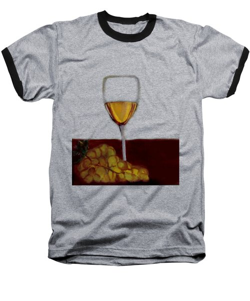 Grapes With Wine Baseball T-Shirt