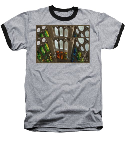 Graphic Art From Photo Library Of Photographic Collection Of Christian Churches Temples Of Place Of  Baseball T-Shirt