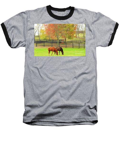 Grazing Time Baseball T-Shirt