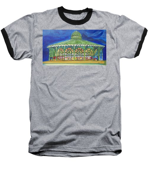 Baseball T-Shirt featuring the painting Grasping The Memories by Patricia Arroyo