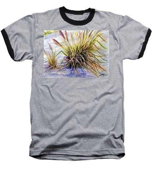 Grass 1 Baseball T-Shirt
