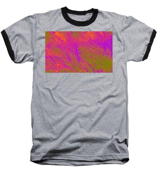 Grass Abstract 4 Baseball T-Shirt