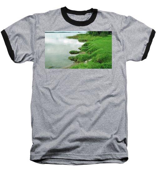 Grass And Water Baseball T-Shirt
