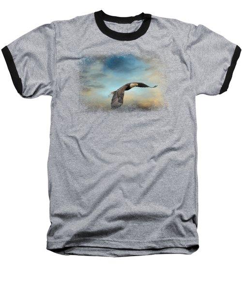 Grass Before The Storm Baseball T-Shirt