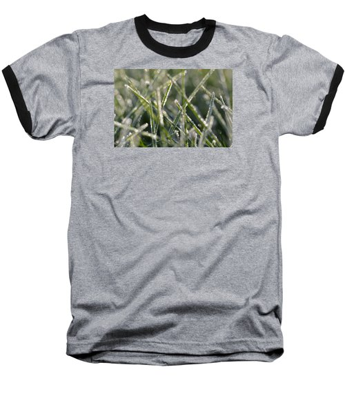 Grass Bokeh Baseball T-Shirt