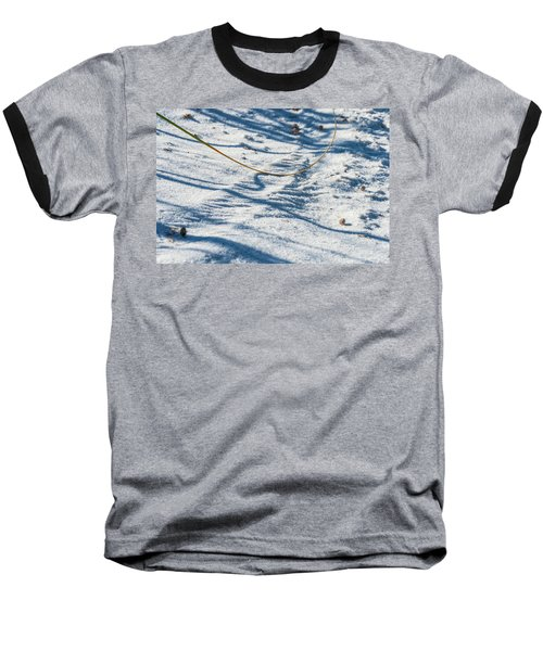 Grass Scapes In The Sand Baseball T-Shirt