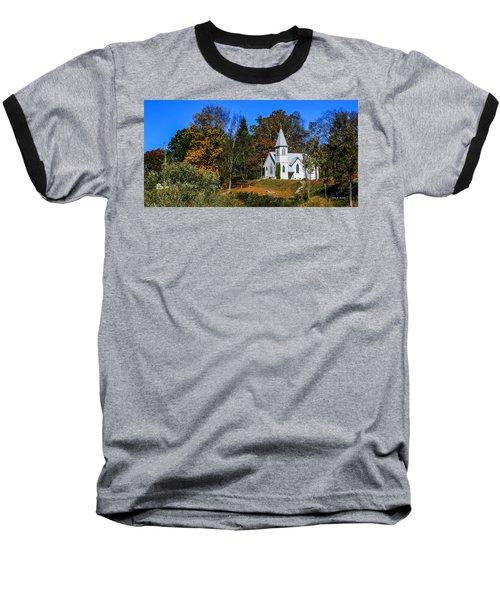 Grassy Creek Methodist Church Baseball T-Shirt