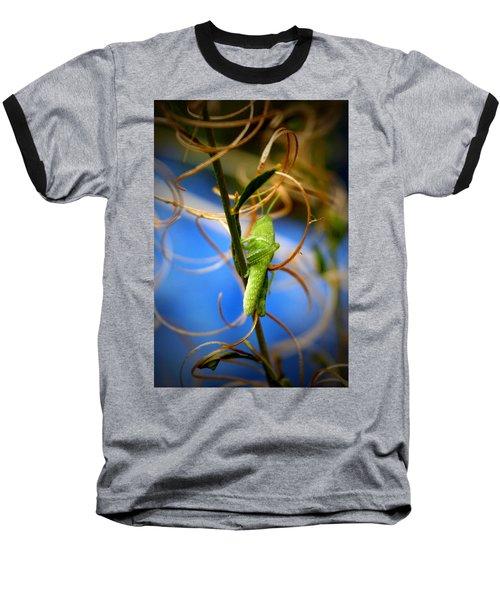 Grassy Hopper Baseball T-Shirt