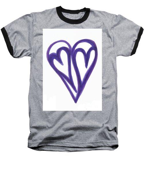 Grateful Heart Thoughtful Heart Baseball T-Shirt