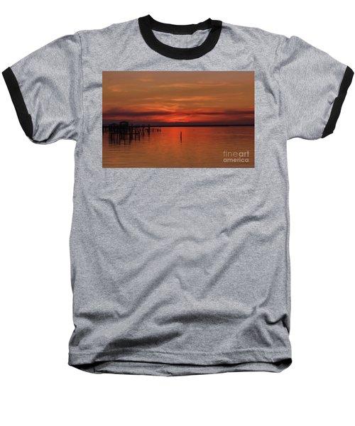 Grateful Baseball T-Shirt by Roberta Byram