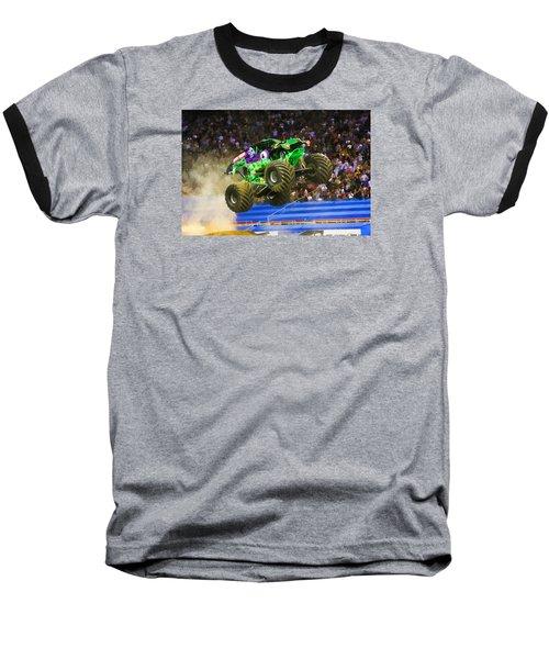 Grave Digger 7 Baseball T-Shirt by Lanjee Chee