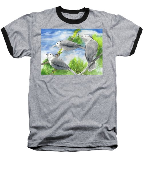 Gray Jays Trio Baseball T-Shirt