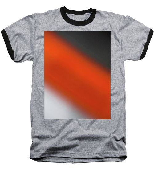 Baseball T-Shirt featuring the photograph Gray Orange Grey by CML Brown