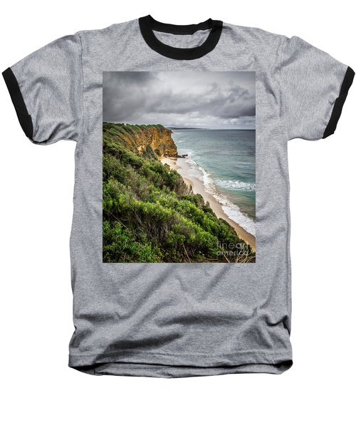 Baseball T-Shirt featuring the photograph Gray Skies by Perry Webster