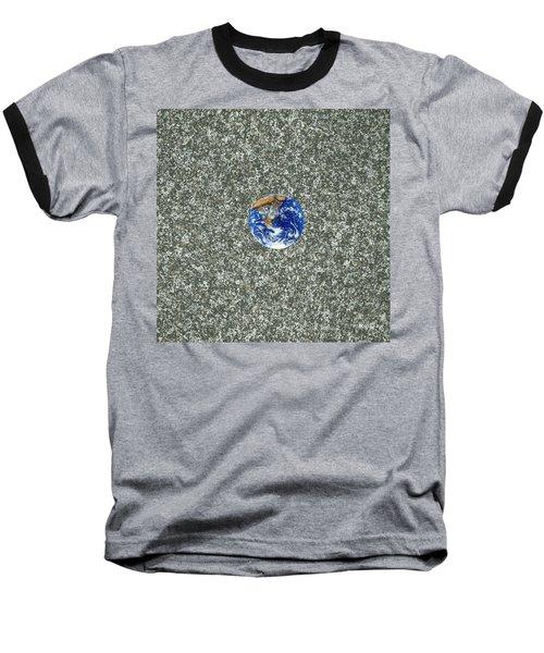 Gray Space Baseball T-Shirt