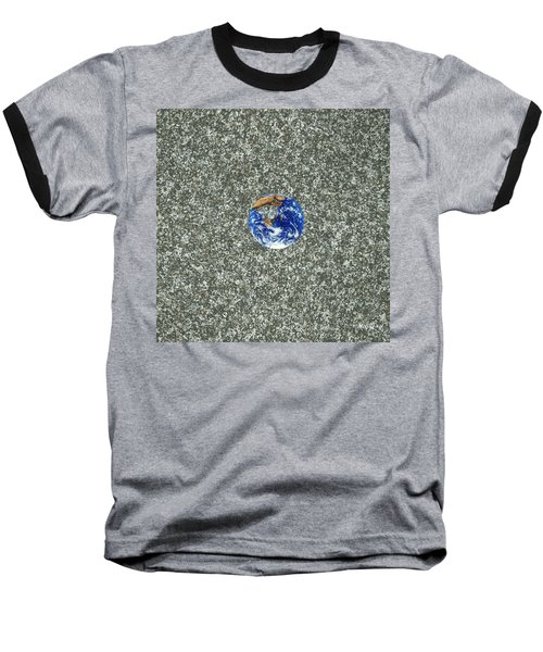 Gray Space Baseball T-Shirt