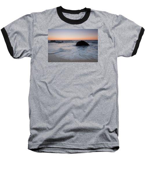 Gray Whale Cove State Beach Baseball T-Shirt
