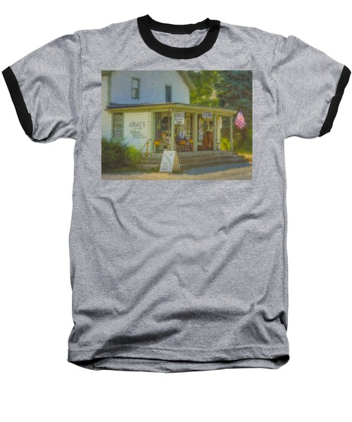 Gray's Store In Little Compton Rhode Island Baseball T-Shirt