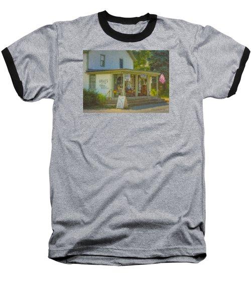 Gray's Store In Little Compton Rhode Island Baseball T-Shirt
