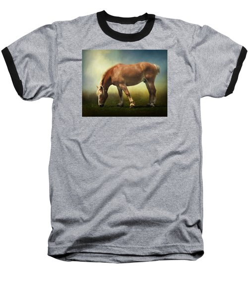 Grazing Belgian Baseball T-Shirt