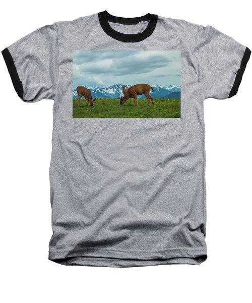 Grazing In The Clouds Baseball T-Shirt
