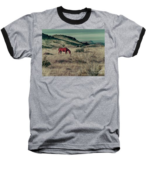 Grazing Solo Baseball T-Shirt