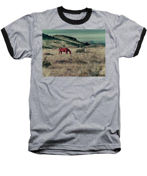 Grazing Solo Baseball T-Shirt