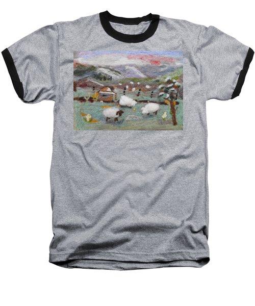 Grazing Woolies Baseball T-Shirt