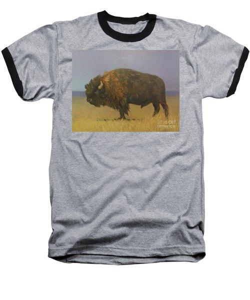 Great American Bison Baseball T-Shirt