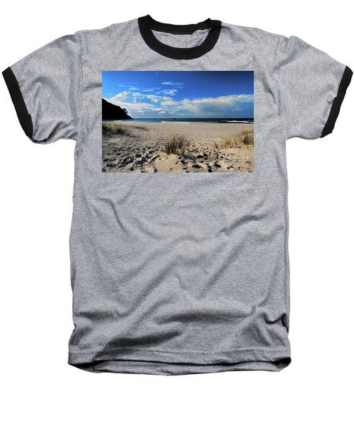 Great Barrier Island Baseball T-Shirt by Karen Lewis