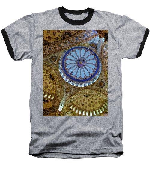Great Blue Dome Baseball T-Shirt