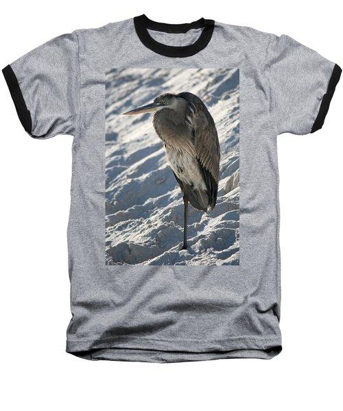 Baseball T-Shirt featuring the photograph Great Blue Heron by Kathleen Scanlan
